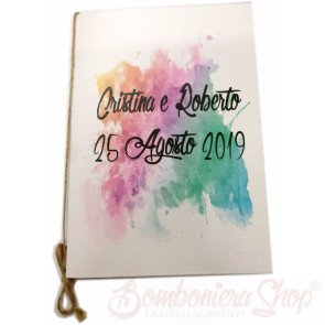 Libretto messa watercolor